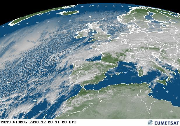 Lisbon Portugal Weather Satellite image
